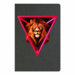 Блокнот А5 Lion art