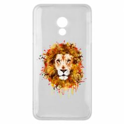 Чохол для Meizu 15 Lite Lion Art - FatLine