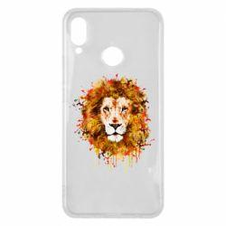 Чохол для Huawei P Smart Plus Lion Art - FatLine