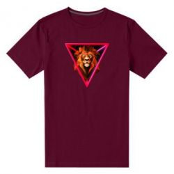 Чоловіча стрейчева футболка Lion art