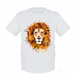 Детская футболка Lion Art - FatLine