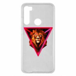 Чохол для Xiaomi Redmi Note 8 Lion art