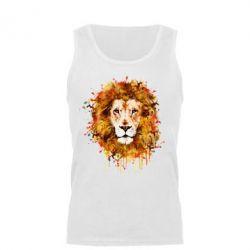 Мужская майка Lion Art - FatLine