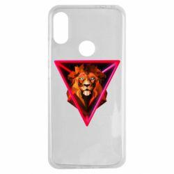 Чохол для Xiaomi Redmi Note 7 Lion art