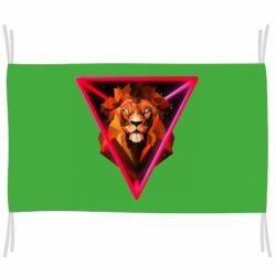 Прапор Lion art