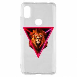 Чохол для Xiaomi Redmi S2 Lion art