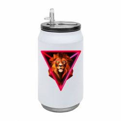 Термобанка 350ml Lion art