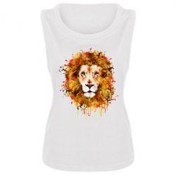 Женская майка Lion Art - FatLine