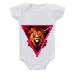 Детский бодик Lion art