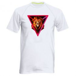 Чоловіча спортивна футболка Lion art