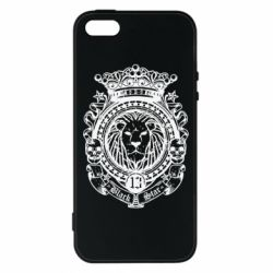 Чехол для iPhone5/5S/SE Lion Black Star
