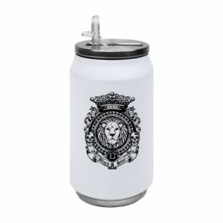 Термобанка 350ml Lion Black Star