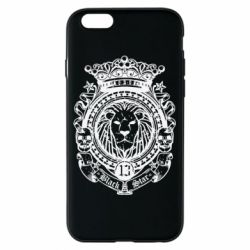 Чехол для iPhone 6/6S Lion Black Star