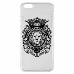 Чехол для iPhone 6 Plus/6S Plus Lion Black Star