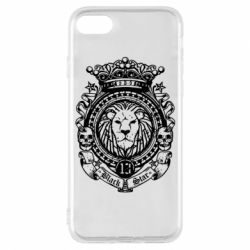 Чехол для iPhone 7 Lion Black Star