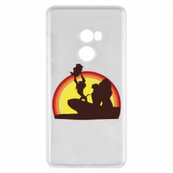 Чехол для Xiaomi Mi Mix 2 Lion king silhouette