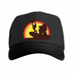Кепка-тракер Lion king silhouette