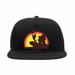 Снепбек Lion king silhouette