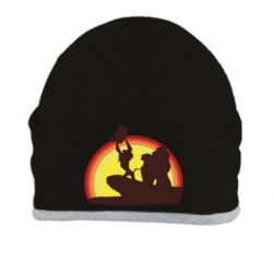 Шапка Lion king silhouette