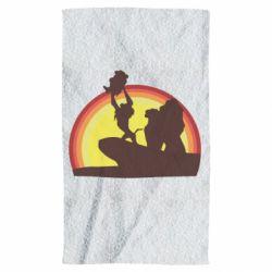 Рушник Lion king silhouette