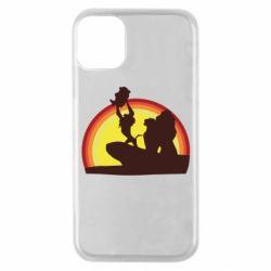 Чехол для iPhone 11 Pro Lion king silhouette