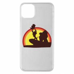 Чехол для iPhone 11 Pro Max Lion king silhouette