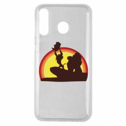 Чехол для Samsung M30 Lion king silhouette