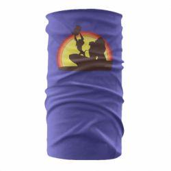 Бандана-труба Lion king silhouette