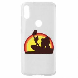 Чехол для Xiaomi Mi Play Lion king silhouette