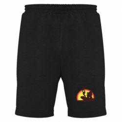 Мужские шорты Lion king silhouette