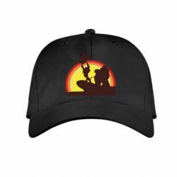 Дитяча кепка Lion king silhouette