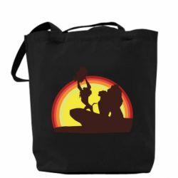 Сумка Lion king silhouette
