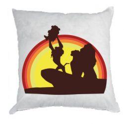 Подушка Lion king silhouette