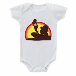 Дитячий бодік Lion king silhouette