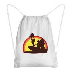 Рюкзак-мішок Lion king silhouette