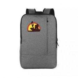 Рюкзак для ноутбука Lion king silhouette