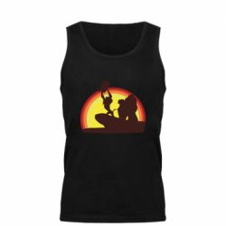 Майка чоловіча Lion king silhouette