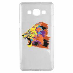 Чехол для Samsung A5 2015 Lion multicolor