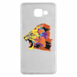 Чехол для Samsung A5 2016 Lion multicolor