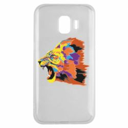 Чехол для Samsung J2 2018 Lion multicolor