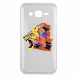 Чехол для Samsung J5 2015 Lion multicolor