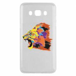 Чехол для Samsung J5 2016 Lion multicolor
