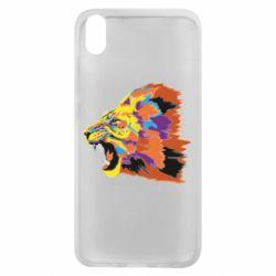 Чехол для Xiaomi Redmi 7A Lion multicolor