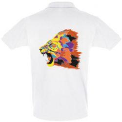 Мужская футболка поло Lion multicolor