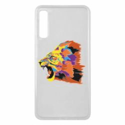 Чехол для Samsung A7 2018 Lion multicolor