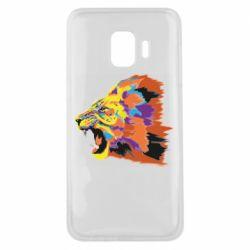 Чехол для Samsung J2 Core Lion multicolor