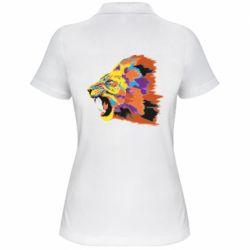 Женская футболка поло Lion multicolor