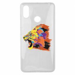 Чехол для Xiaomi Mi Max 3 Lion multicolor