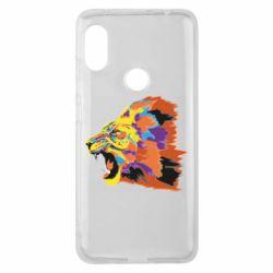 Чехол для Xiaomi Redmi Note 6 Pro Lion multicolor