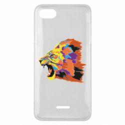 Чехол для Xiaomi Redmi 6A Lion multicolor